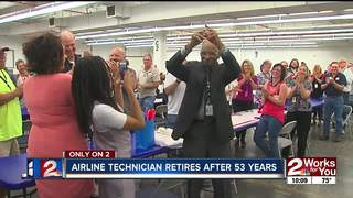 Technician at American retires after 53 years