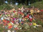 Families furious after seeing cemetery dump pile