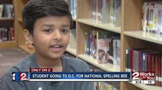 Local student prepares for national spelling bee
