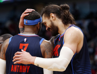 Adams says 'like' of Melo barb was accidental