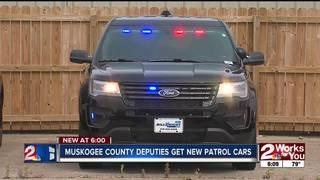 Muskogee County Sheriff unveils new patrol fleet