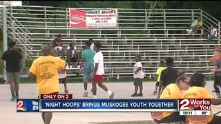 'Night Hoops' providing fun outlet for youth