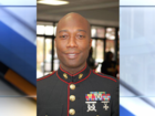 A Marine is trekking across the U.S. again