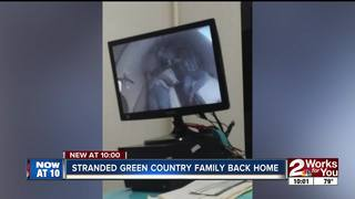 Tulsa couple relieved to be home after ordeal