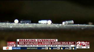 Drug deal ends in carjacking and armed robbery