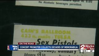 Concert promoter collects decades of memorabilia