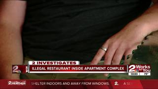 2 Works for You confronts owner of food service
