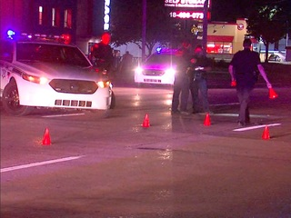 Woman escapes major injury after hit by car
