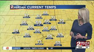 Forecast: Few Isolated storms later today