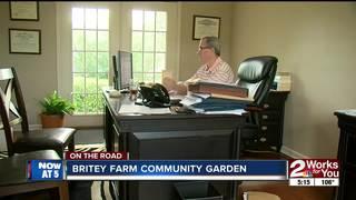 ON THE ROAD: Britey Farm Community Garden