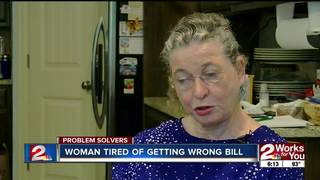 Woman gets bill she doesn't have to pay