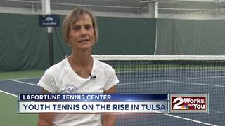 Youth tennis on the rise in Tulsa
