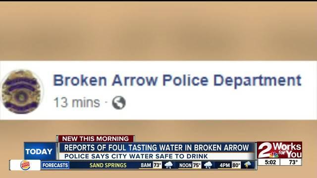 musty taste and smell reported in broken arrows drinking water kjrhcom - Olive Garden Broken Arrow