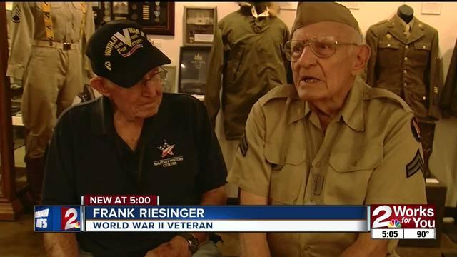 Veterans remember end of WWII- Japan surrendering