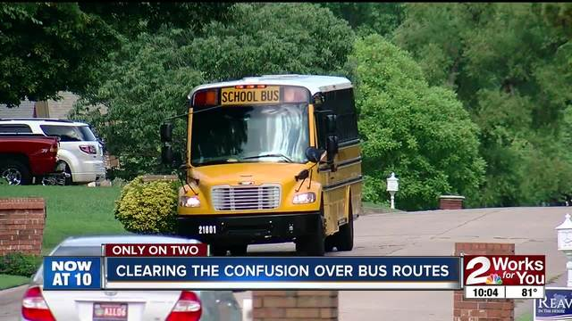 Clearing the confusion over bus routes