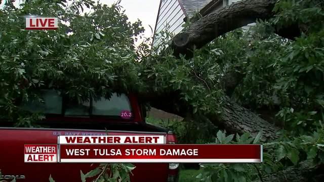 West Tulsa storm damage