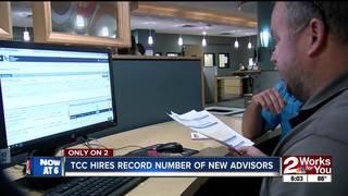 TCC adds record number of academic advisors