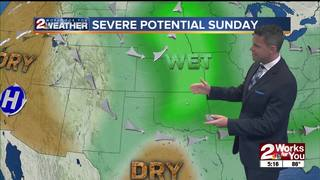 Forecast: Nice Saturday, but then stormy Sunday