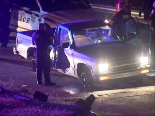 Two arrested for wild police chase through Tulsa