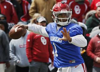 Oklahoma names Kyler Murray starting quarterback
