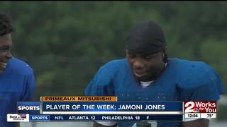 Player of the Week: Jamoni Jones