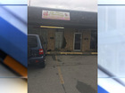 Vehicle hits building in east Tulsa