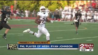 Player of the Week: Ryan Johnson