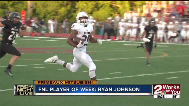 Player of the Week: Ryan Johnson