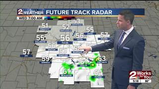 Forecast: Evening storm chances