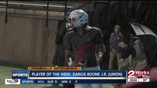 Player of the Week: Darius Boone, Jr.