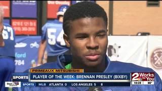 Player of the Week: Brennan Presley