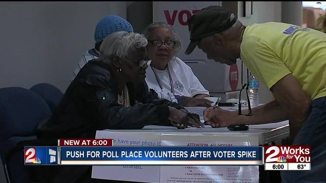Push for pole place volunteers