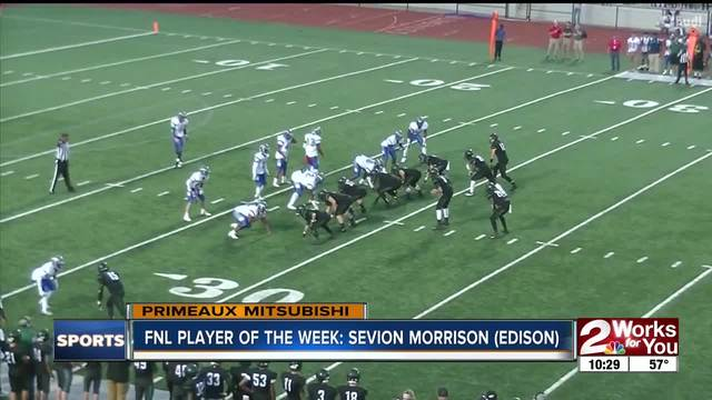 Player of the Week- Sevion Morrison