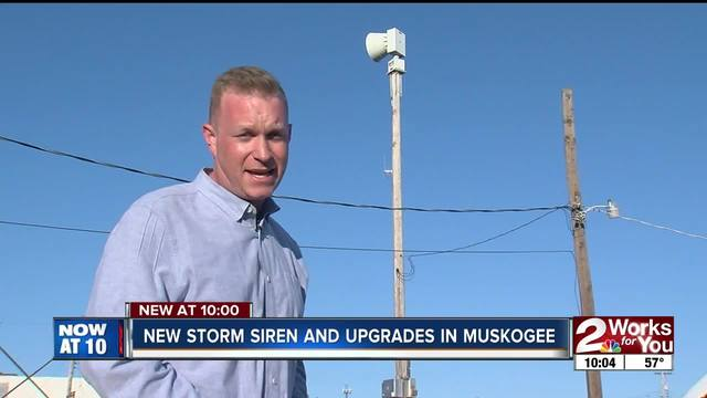 New storm siren and upgrades planned for Muskogee