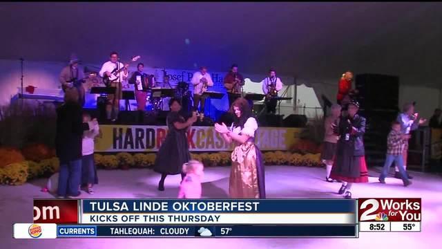 Tulsa Linde Oktoberfest kicks off Thursday for its 40th yearo
