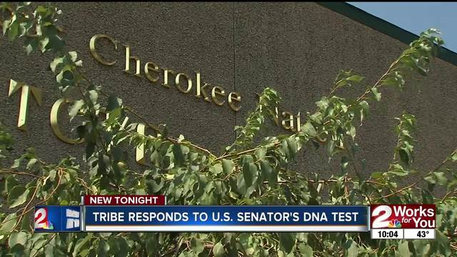 Cherokee Nation responds to US Senator-s DNA test results
