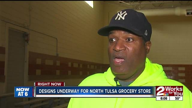 Designs underway for North Tulsa grocery store