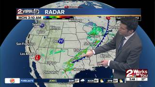 FORECAST: Cold today with some showers south