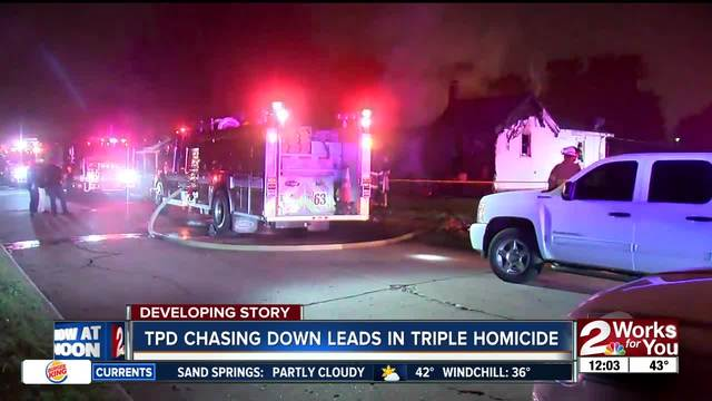 Officials continue investigation into north Tulsa house fire in which…