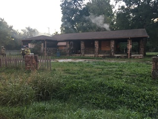 Tulsa house damaged by fire Monday morning