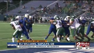 Player of the Week: Sapulpa QB Eli Williams