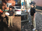 Young OSU fan sports flawless Gundy costume