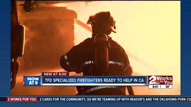 TFD waits in wings to help with California fires