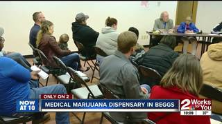 Beggs discusses dispensary at public meeting