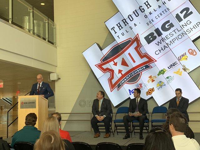 Big 12 wrestling championship to remain in Tulsa